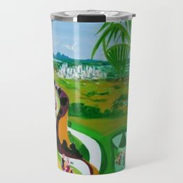 View of Brisbane,Australia                by Kay Lipton Travel Mug