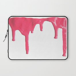 Pink Splatter Laptop Sleeve