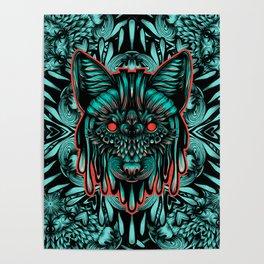 Fox Color Poster