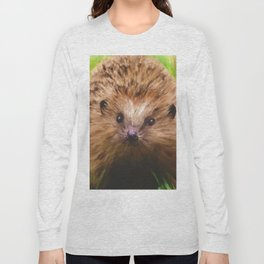 Hedgehog in the Grass Long Sleeve T-shirt