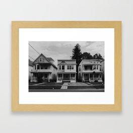 House // Albany, NY Framed Art Print