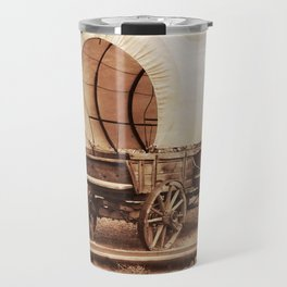 Old West Cowboy Cat and his Gal Travel Mug