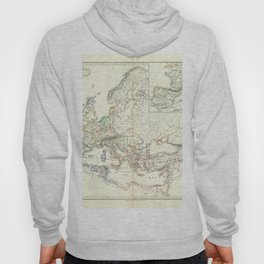 Vintage Map - Spruner-Menke Handatlas (1880) - 01 Europe at the time of Odovacars, 476–493 AD Hoody
