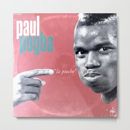 LPFC: Paul Pogba Metal Print