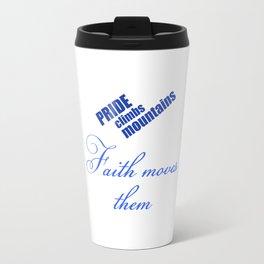 Faith Moves Mountains Travel Mug