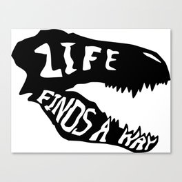 Life Finds a Way 1 Canvas Print