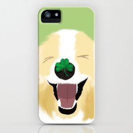 It's A Happy Dog Life iPhone Case