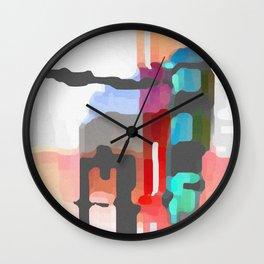 Hallucinatory Smut Wall Clock