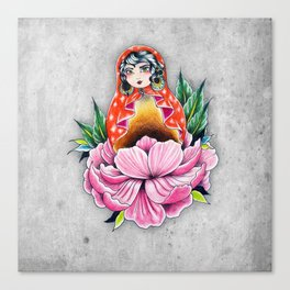 Flowerish Canvas Print