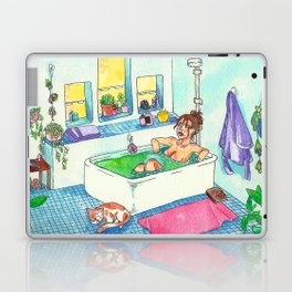 Witchy Relax Laptop & iPad Skin