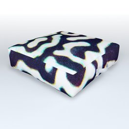 Puffer pattern Outdoor Floor Cushion