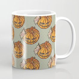 trick or treat? - pattern Coffee Mug