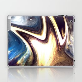 returning to the cosmos | Abstract Painting Laptop & iPad Skin