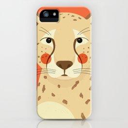 Cheetah, Animal Portrait iPhone Case