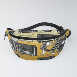 Two Stand Hearts Fanny Pack