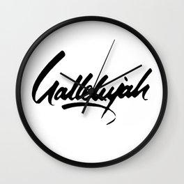 Secret Chord Wall Clock