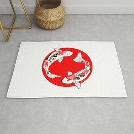 Japanese Kois Rug