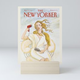 """Cover of """" The new Yorker"""" magazine. May. 25 1992. Mini Art Print"""
