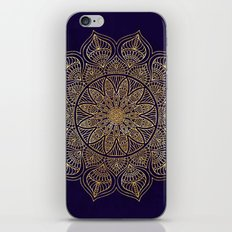Gold Mandala iPhone & iPod Skin