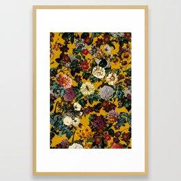 Exotic Garden V Framed Art Print