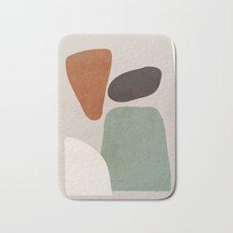 Abstract Shapes 12 Bath Mat