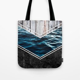 Striped Materials of Nature IV Tote Bag