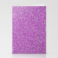 glitter Stationery Cards featuring Glitter by mailboxdisco
