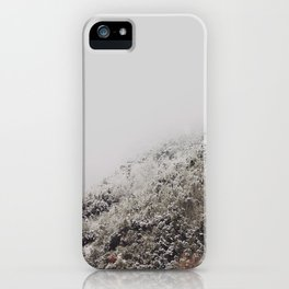 White breath iPhone Case