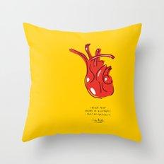 Frida Heart Throw Pillow