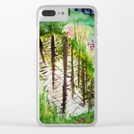 Into water / Vette Clear iPhone Case