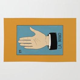 La Mano Card (Traditional) Rug