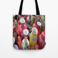 Chinese Pots Tote Bag