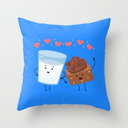 Brownie's BFF Throw Pillow