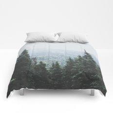 Forest Window Comforters