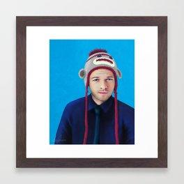 Misha Collins Framed Art Print