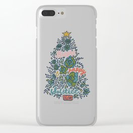 Bright and Happy Solstice Clear iPhone Case