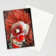 zombie clown Stationery Cards