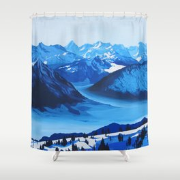 Rigi Shower Curtain