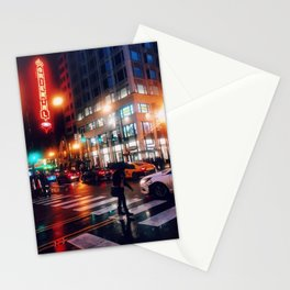 Chicago Nights Stationery Cards
