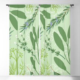Herbs Blackout Curtain