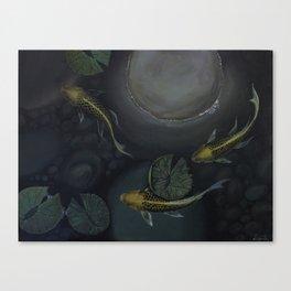Golden Trio Canvas Print