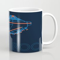 60s Mugs featuring Rochester (ROC) - 60s by Kyle Rodgers
