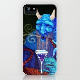 Hookah Demon iPhone Case