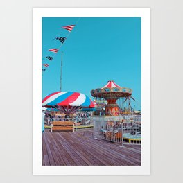 By the Sea side Art Print
