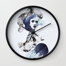 blue emotions Wall Clock
