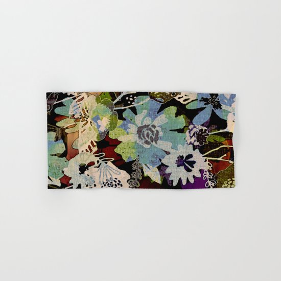 Floral Hand & Bath Towel