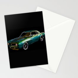 1969 Camaro By Annie Zeno Stationery Cards