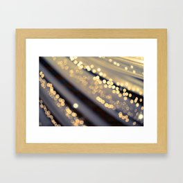 Second Star to the Right Framed Art Print