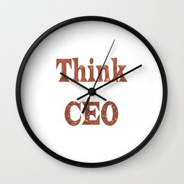 ThinkCEO Wall Clock