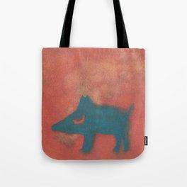 Moon dog Tote Bag